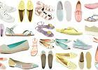 Pastelowe buty na p�askiej podeszwie - ponad 50 propozycji!