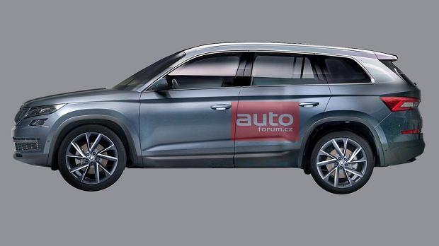 Skoda Kodiaq | Kolejny wyciek zdj�� nowego SUV-a Skody