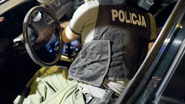 Interwencja policji - zdjęcie ilustracyjne