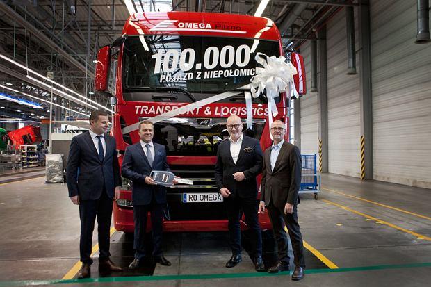 100 tys. ciężarówek MAN-a z Niepołomic