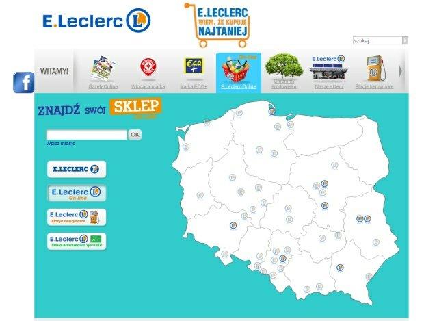 Leclerc jako drugi po Tesco wprowadza odbi�r osobisty zakup�w przez internet