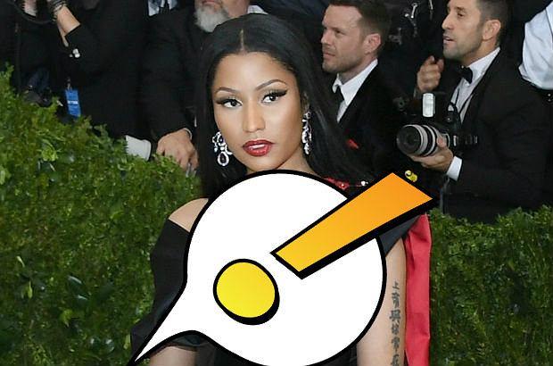 Nicki Minaj - sukienka z H&M