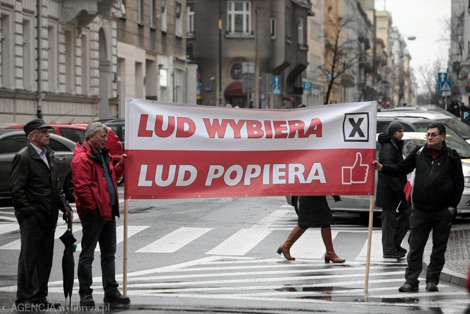 Marsz Wolności i Solidarności PiS, 2015 r.