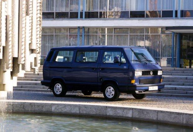 pożegnalny Volkswagen Transporter T3