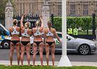 Brytyjskie siatkarki pla�owe wywo�a�y korek na ulicach Londynu