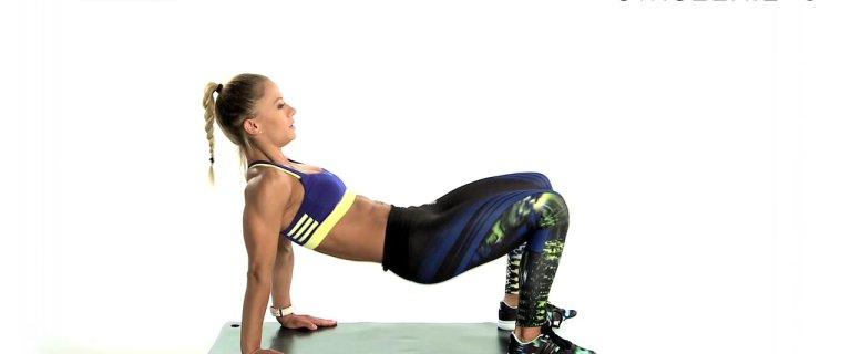 Trening z Katarzyną Dziurską. 4 ćwiczenia ekstremalnie spalające tłuszcz