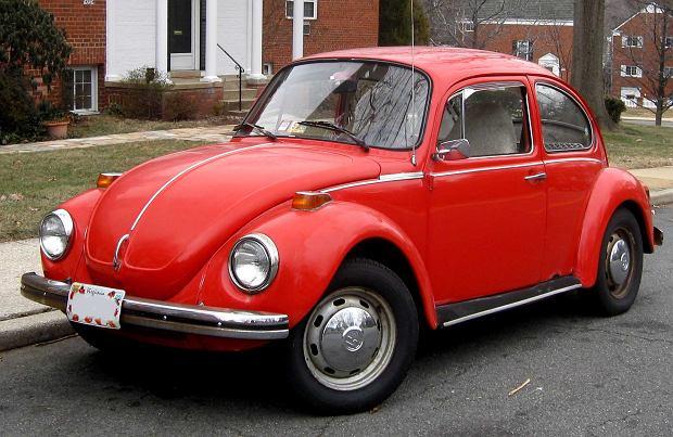 Volkswagen Beetle (Garbus) z 1973 roku