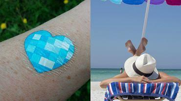 My UV Patch ma za zadanie pomóc nam chronić skórę przed słońcem.