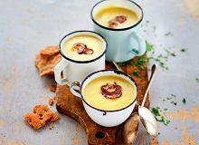 Kremowa zupa z ziemniaków i porów - ugotuj