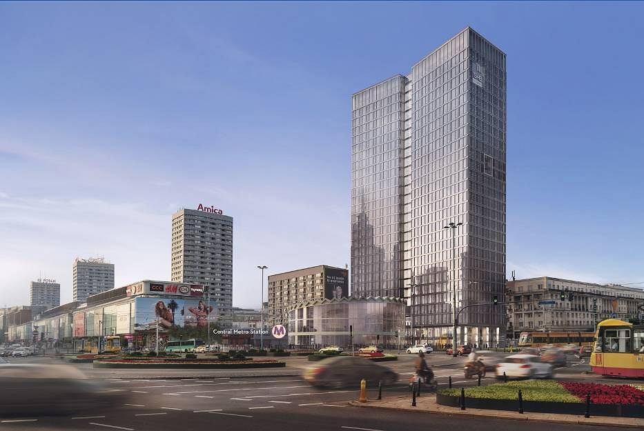 Obok Rotundy w miejscu Universala powstaje nowy wieżowiec - Widok Tower