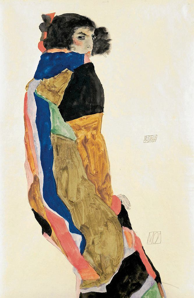 Egon Schiele, Moa, 1911  / Leopold Museum, Vienna