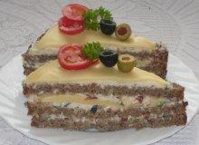 Torcik chlebowy z serem - ugotuj