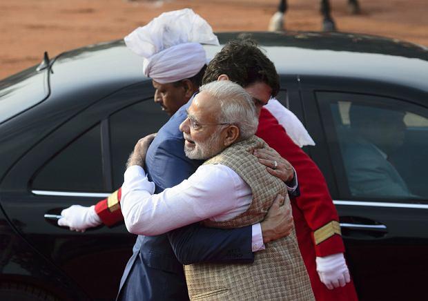 Premier Kanady Justin Trudeau z wizytą w Indiach