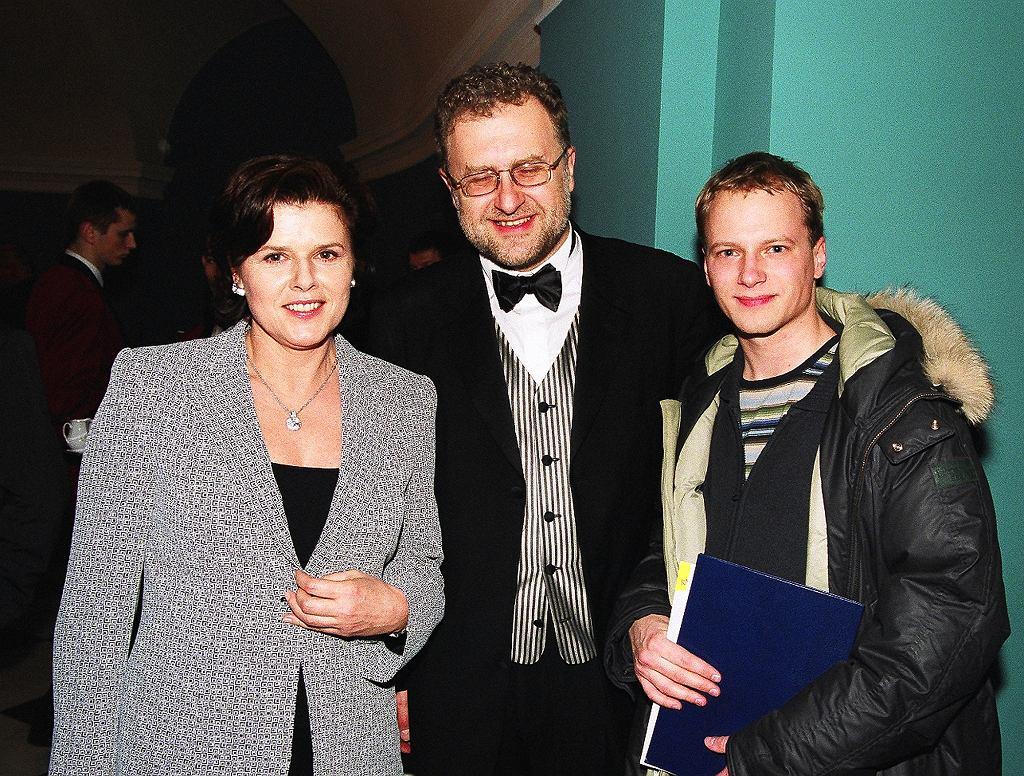 Alicja  Resich Modlińska, Jabłoński Dariusz, Stuhr Maciej