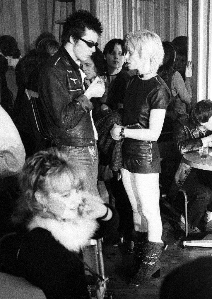 Sid Vicious and Vivienne Westwood, 1976 / Ian Dickson