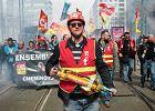 Strajk francuskich kolejarzy to początek transportowego koszmaru