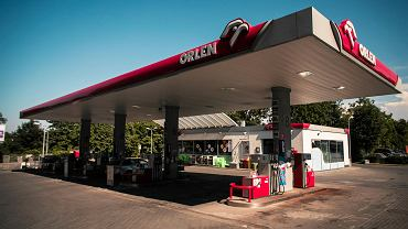 Orlen - stacja benzynowa