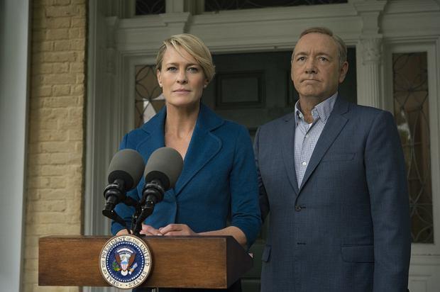 Kadr z serialu 'House of Cards'