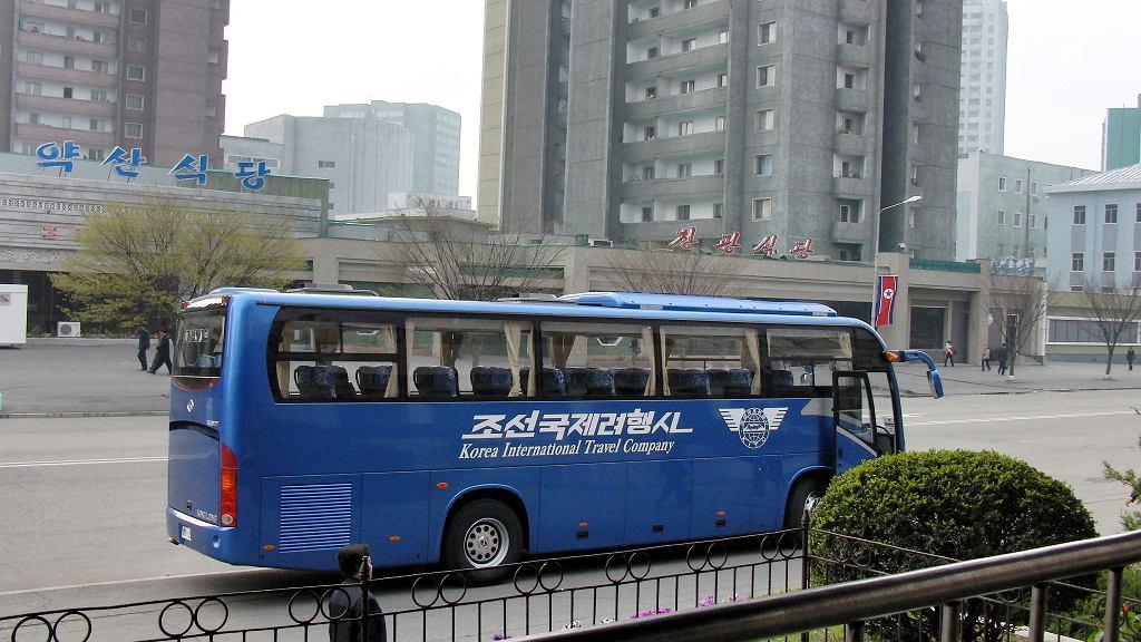 Wypadek autobusu z chińskimi turystami w Korei Północnej / zdjęcie ilustracyjne