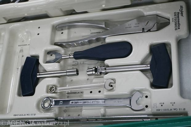 Stabilizator ortopedyczny firmy Stryker
