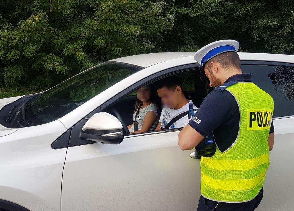 Policja patrolowała zielonogórskie drogi