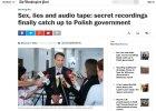 """""""Washington Post"""": """"Seks, k�amstwa i nagrania audio"""". Afera pods�uchowa w�a�nie zerwa�a skalpy"""