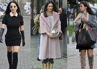 Kayah w ró�owym p�aszczu, Rusin z torebk� Louis Vuitton. Tak gwiazdy ubieraj� si� na co dzie�