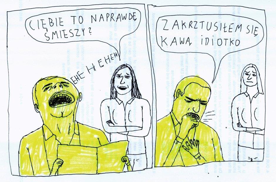 Koza dla Gazeta.pl [13] - Rys. Janek Koza