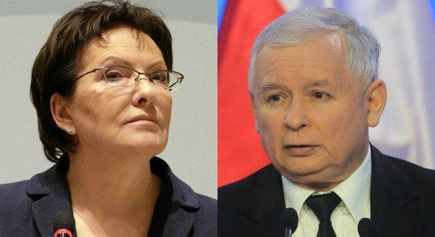 Ewa Kopacz / Jarosław Kaczyński
