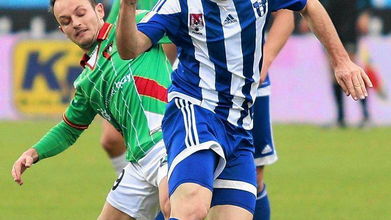 Mikołaj Lebedyński zakończył sezon z 14 bramkami