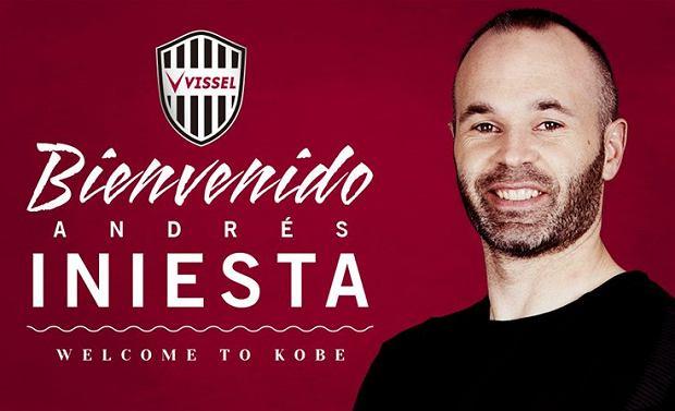 J-League. Andres Iniesta zaprezentowany w nowym klubie