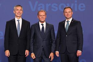 Szczyt NATO w Warszawie. Najważniejsze wydarzenia pierwszego dnia