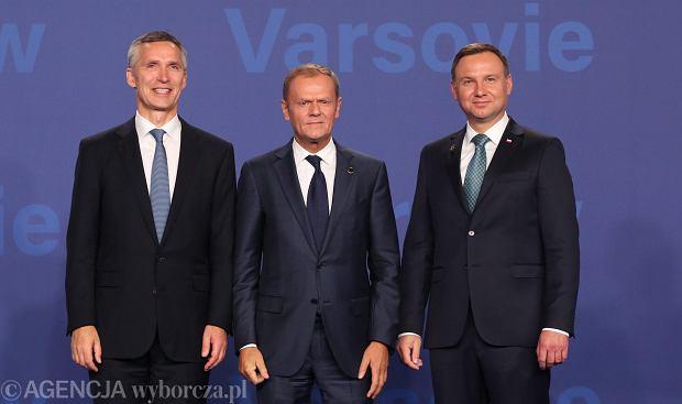 Szczyt NATO w Warszawie. Najwa�niejsze wydarzenia pierwszego dnia
