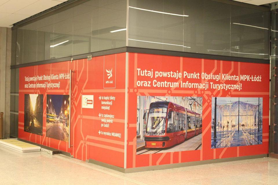 Dworzec Łódź Fabryczna. W tym miejscu miał powstać punkt MPK-Łódź