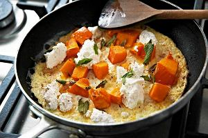 Omlet z dynią i ricottą