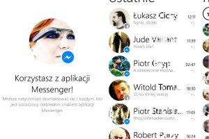 Facebook dopi�� swego. Messenger ma 500 mln u�ytkownik�w