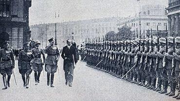 Berlin 1935, Józef Beck przed kompanią honorową Wehrmachtu