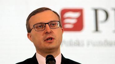 Paweł Borys, szef Państwowego Funduszu Rozwoju