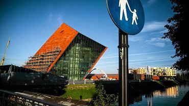 Gdańsk. Muzeum II Wojny Światowej w budowie
