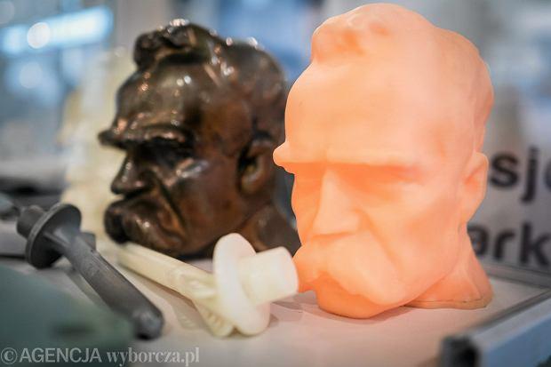 Wydruki z drukarki 3D. Targi 3D Solutions na MTP. Poznań, 6 czerwca 2017
