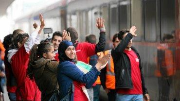 Uchodźcy w Monachium
