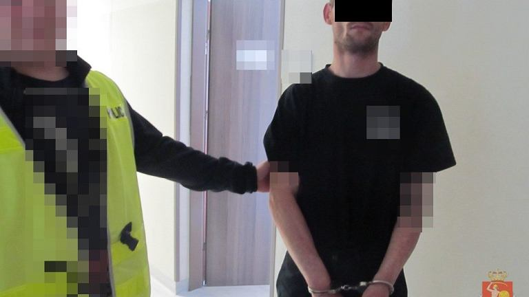 Policja zatrzymała podpalacza z Pragi