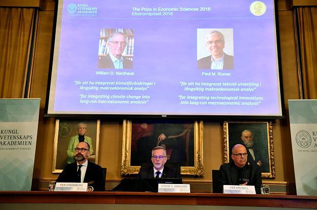 Nobel z ekonomii za pracę nad zmianami klimatycznymi