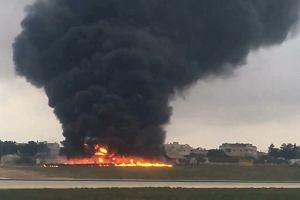 Katastrofa samolotu na Malcie. Maszyna pe�ni�a misj� rozpoznawcz� dla francuskiego MON