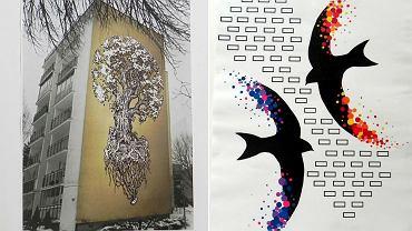 Rozstrzygnięto konkurs na projekty murali, które pojawią się na północnym Ursynowie.