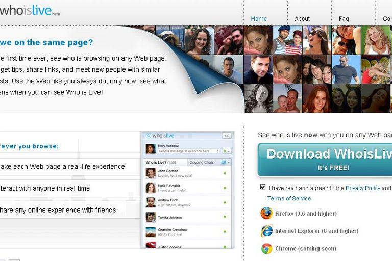 WhoIsLive - wtyczka która pokazuje, kto ogląda daną stronę