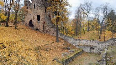Łotwa, Ruiny zamku w Cesis