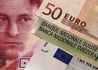Kurs franka zwi�zany z euro? Najwi�kszy spadek od dekad