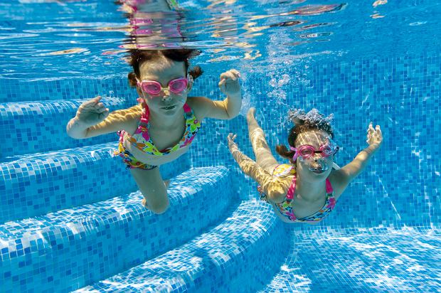 Ferie na basenie