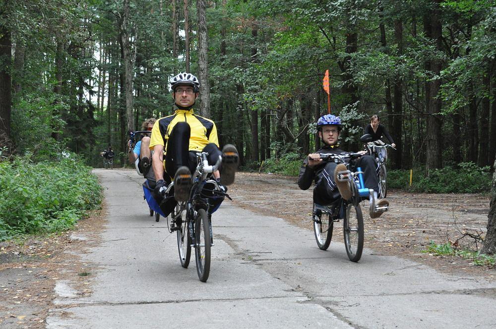 IV Ogólnopolski Zlot Rowerów Poziomych w Turawie koło Opola